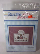 Bucilla Lullaby Baby Collection Little Girl Walking Counted Cross Stitch Kit - $4.94