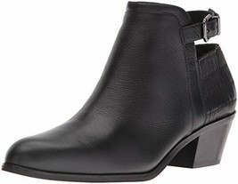 Via Spiga Women's Caryn Ankle Bootie, Black, 10 M US - $73.52