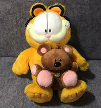Garfield 25yrs Limited Edition & Ty Beanie Buddies Pookie Plush Collectible Toys - $57.42