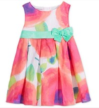First Impressions Baby Girls' Tie-Dye Flower-Print Dress, Size 24 M, MSRP $48.5 - $21.77