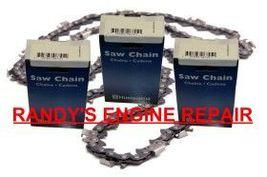 "20"" 3/8"" .050"" 3-PK Husqvarna Saw Chain 455 Rancher 460 - $65.99"