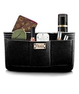 Pursi Handbag Purse Organizer Insert - Felt Fabric Multi Compartment Design - $22.17