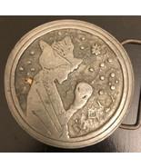 Vintage Bloomington IN Metal Round Belt Buckle - $14.85