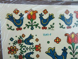 1975 Vintage Meyercord Water Decals Pyrex Corning Country Festival 3 Sheets - $25.00
