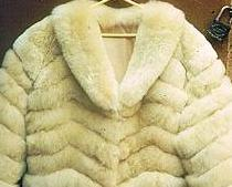 Fashionista Fur Jacket, Baby Alpaca Fur from Peru, 2X - Small