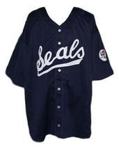 Joe Dimaggio San Francisco Seals Baseball Jersey 1933 Navy Blue Any Size image 5