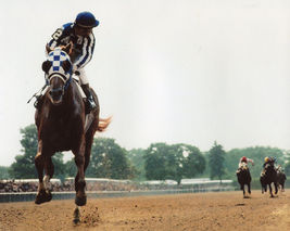Secretariat 1973 Triple Crown TKK Vintage 11X14 Matted Color Memorabilia Photo - $14.99
