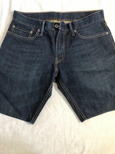 Women's Levis Classic Denim Shorts Dark  32