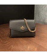 Authentic Tory Burch KIRA MIXED-MATERIALS MINI BAG Black - $278.00