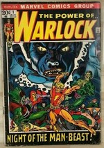 WARLOCK #1 (1972) Marvel Comics VG/VG+ - $24.74