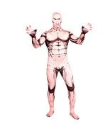 Attack on Titan Eren Jaeger Bodysuit Zentai Catsuit Tights Costume - $53.90
