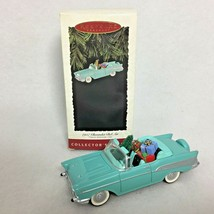 Hallmark Ornament 1957 Chevrolet Bel Air Car Collectors Series Classic A... - $14.80