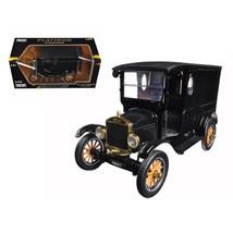 1925 Ford Model T Paddy Wagon Black 1/24 Diecast Model Car by Motormax 7... - $34.69