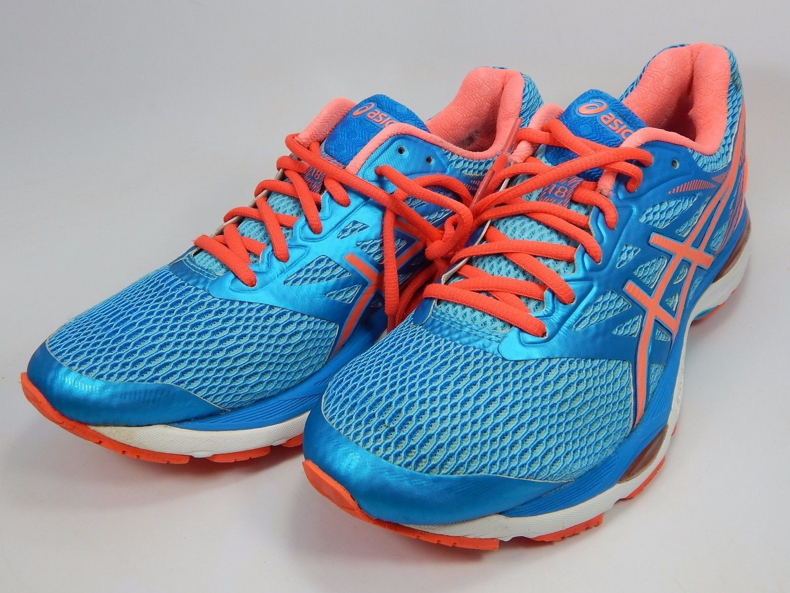 Asics Gel Cumulus 18 Women's Running Shoes Size US 9 M (B) EU 40.5 Blue T6C8N