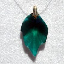 Crystal Leaf Earrings image 5