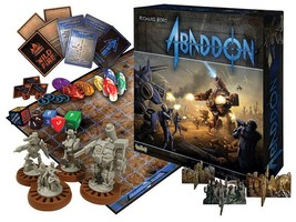 Abaddon Board Game by Richard Borg Free Expedited Shipping - $34.99