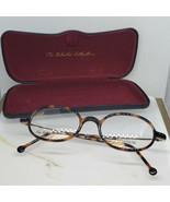 New Stepper Classic Retro Eyeglass Frame Tortoise & Titanium Eclectic E-... - $128.25