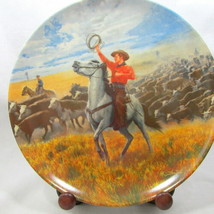"""Oklahoma Plate Musical 8"""" COA 1986 Rogers Hammerstein 4th Issue 2199F Kn... - $16.74"""