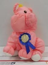 1993 Fisher Price Barnyard Puffalumps Pink Pig Puffalump #8096 Rare HTF - $46.75