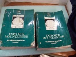1998 Ford Explorer Mercury Mountaineer Shop Manuals Set Repair Service Workshop - $59.35