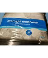 Adult CVS Overnight Underwear Extra Large Unisex 12 Count - $20.99