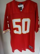 NWT Logo Athletic Kansas City Chiefs Anthony Davis #50 Jersey Men XL Aut... - $115.82