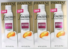 4 Pack Pantene Pro-V in the Shower Breakage Defense Foam Conditioner 6 oz image 1