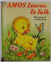 Amos Learns to Talk The Story of a Little Duck Elf Book 446 - $3.99