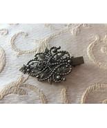 Goldtone Hair Clip - Ornamental Victorian Design - Free U.S. Shipping! - $12.17