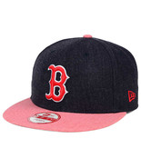 NewEra MLB Boston Red Sox 2 Tone Heather Action 9FIFTY Snapback Cap New Era - $29.65