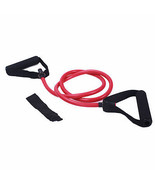 Adeco Single Resistance Band Door Anchor Included - 48 Inch, Red - $9.49