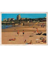South Africa Postcard Port Elizabeth Humewood Beach - $4.74