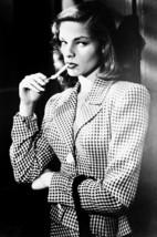 Lauren Bacall iconic lighting cigarette The Big Sleep 18x24 Poster - $23.99