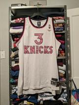90s Reebok New York NY Knicks NBA Stephon Marbury Sewn Jersey size 3XL VINTAGE - $28.92