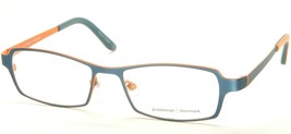 NEW PRODESIGN DENMARK 1264 9321 MATTE PETROL ORANGE EYEGLASSES FRAME 51-... - $83.66