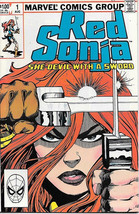 Red Sonja Comic Book Volume 3 #1 Marvel Comics 1983 Very FINE/NEAR Mint - $9.74