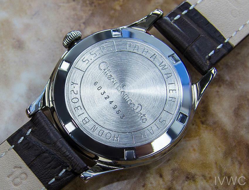 Citizen Homer Data Giapponese da Collezione Uomo Vintage Abito Watch c1960s B18 image 7