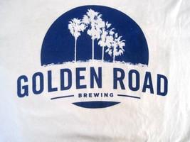GOLDEN ROAD BREWING Schooners T Shirt Los Angeles California sz 2XL cott... - $12.73