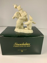 "Dept 56 Snowbabies  "" I Have Lots To Give "" Penguin Figurine .. 2002 ..#... - $18.99"