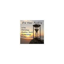 One Hour Astrology Rune Numerology Destiny Card... - $25.00