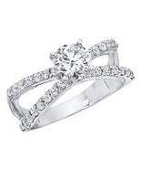 1.30 CT.T.W. Diamond Ring 14K White Gold,Diamond Engagement Ring, Jewele... - $3,499.99