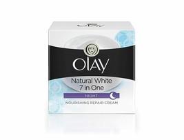 Olay Night Cream Natural White Fairness Moisturiser, 50g - $15.12+