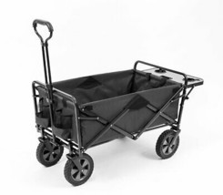 Mac Sports Collapsible Outdoor Utility Wagon With Folding Table And Drin... - $84.97