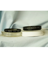 Pentax 49MM Polarizing + Light Yellow Cased Camera Filters - Actual Pent... - $15.00