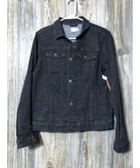 Wonder Nation NWT Black Denim Jacket Boy's Size XXL 18 - $23.75