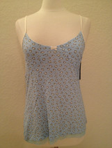 Tommy Hilfiger Cotton Blend Camisole Sleep Top  RH23S025 XS S M L XL Blu... - $8.00