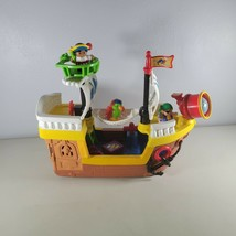 Fisher Price Little People Pirate Ship With Music & Sounds With On Off S... - $52.41