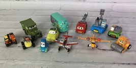 Mixed Lot of 12 Mini Small Disney Pixar CARS Various Figures Characters ... - $15.14