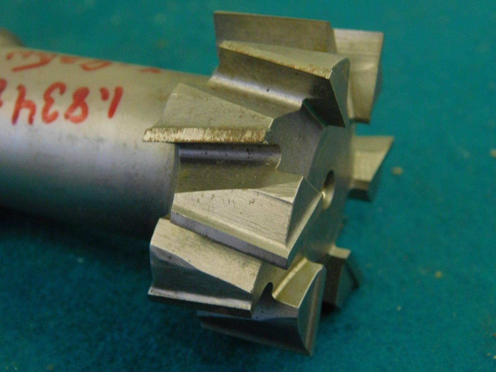 """USA 1.825"""" x .825"""" x 1.25"""" Shank Taper Staggered Tooth HSS T-Slot Cutter"""