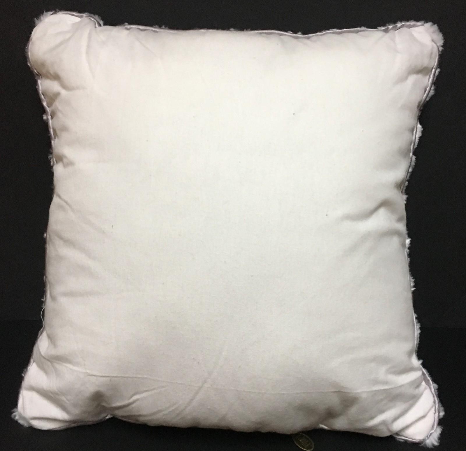 "Pier 1 Light Up Pillow LED Snowflake 16"" x 16"" Three Settings NWT"